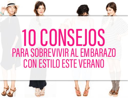 10 Consejos para sobrevivir al embarazo con estilo este verano