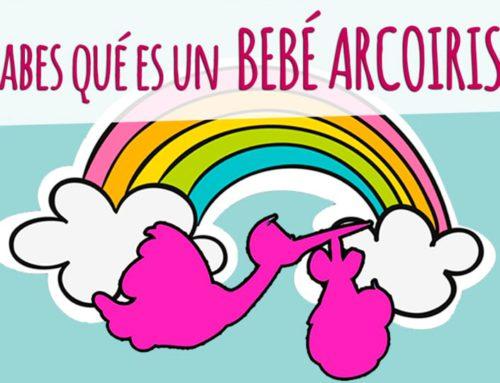 ¿Sabes qué es un bebé arcoíris?