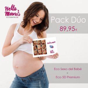 Pack Duo - Hello Mami Ecografías 5D